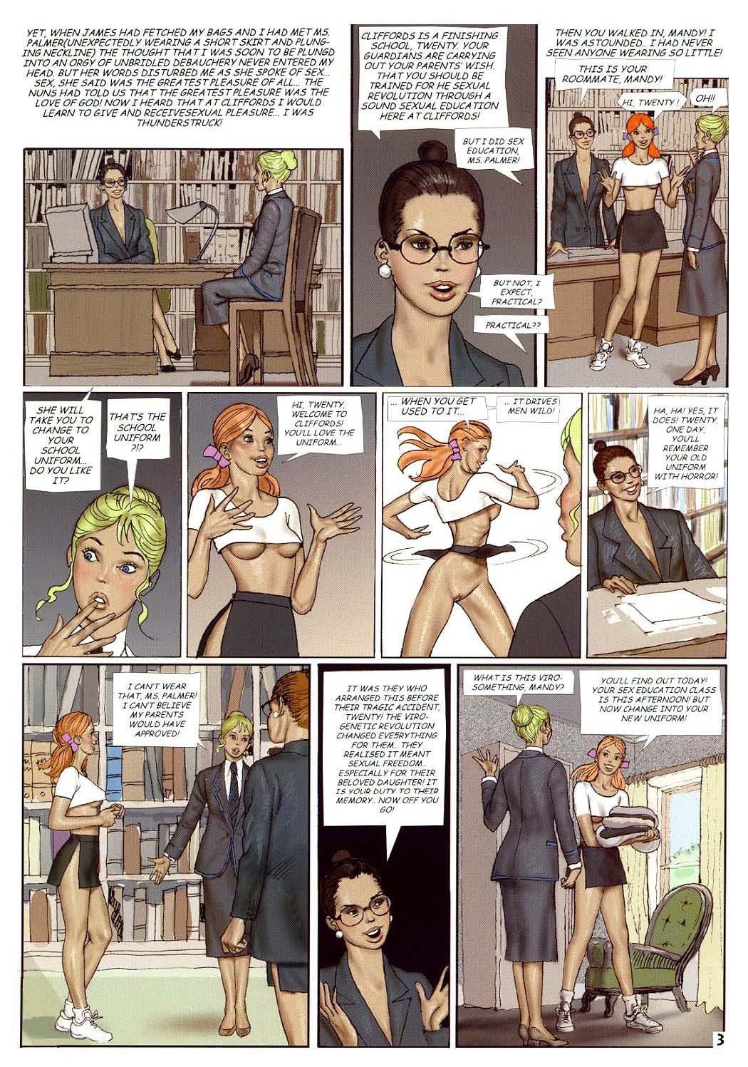 Секс на школа переводом 2 фотография