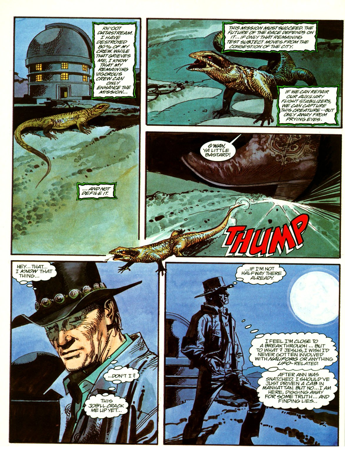Abducted by Aliens 1 by John Burns, George Caragonne