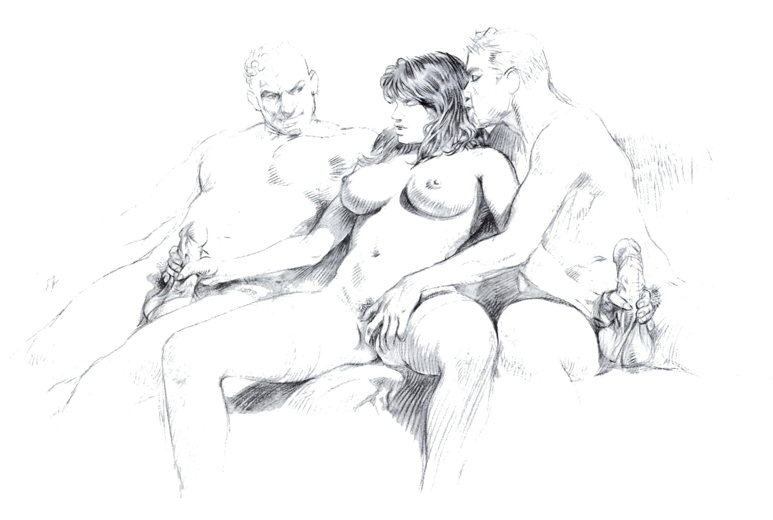 Красивые порно рисованные картинки