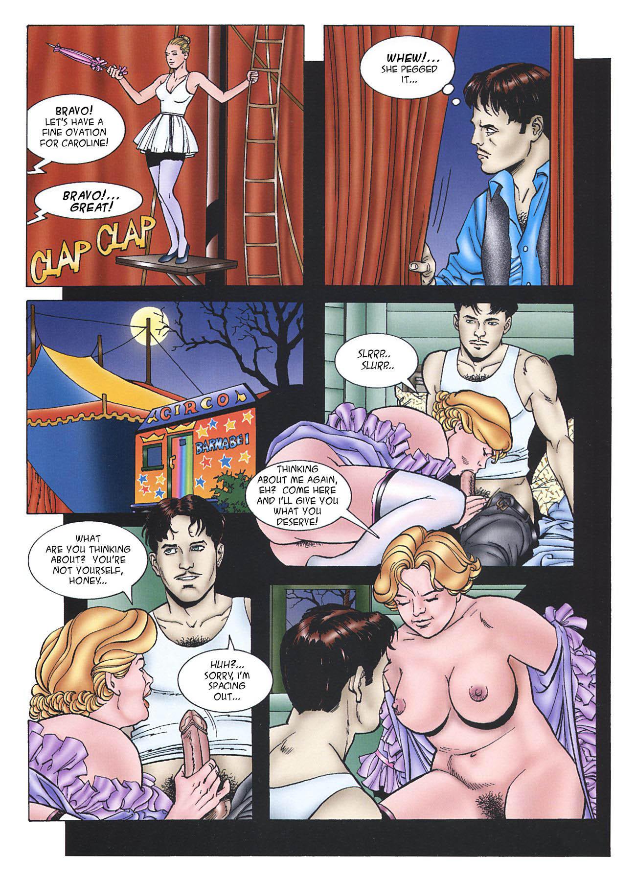 Night Elf Porn Comics Stunning the circusroberta morucci   sex and porn comics in english   zizki