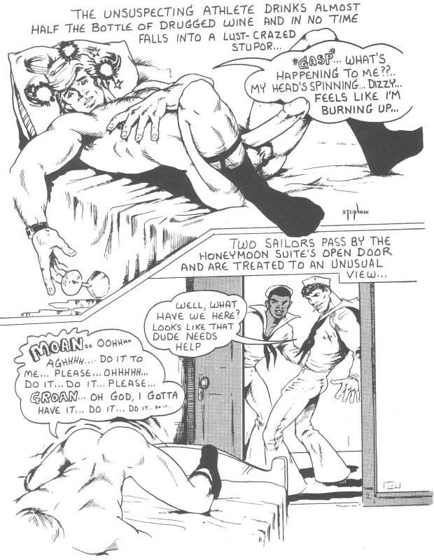 Gay porno drawing