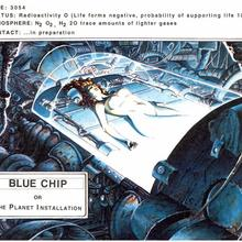 Beth Steele Blue Chip by Alfonso Azpiri