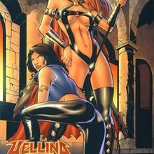 Hellina vs Pandora 3 by Doug Miers, Di Amorim