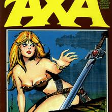 Axa Adult Fantasy Color Album by Enrique Romero