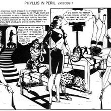 Phylis in perril by Eric Stanton