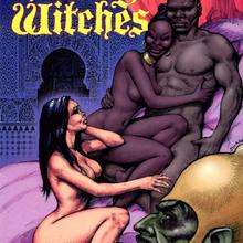 Young Witches 3 by Francisco Solano Lopez