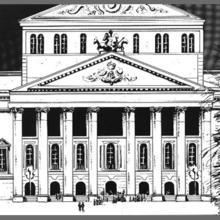 Bolshoi Theatre by Hugdebert