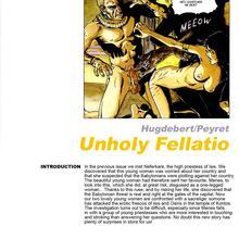 Unholy Fellatio by Hugdebert