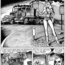 Cherry in The Phantom Hitchhiker by Larry Welz