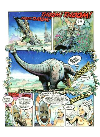 Libby in the Lost World 3 by Arthur Suydam