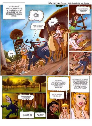 Akerronya Escape 2 by Atilio Gambedotti, Ivan Guevara