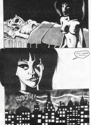 Beware the Vampyres Kiss 1 by Barry Blair