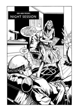 Night Session by Bill Miller, Juan Alcantara