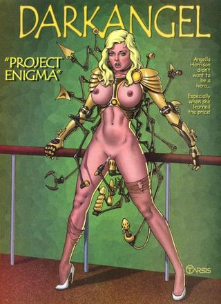Dak Angel 1 Project Enigma by Brian Tarsis