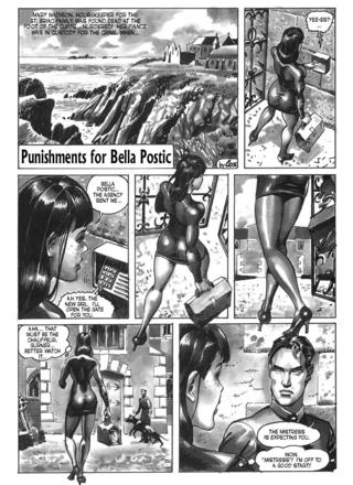 Punishments for Bella Postic by Bruno Coq