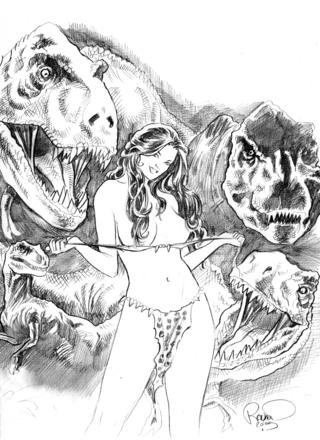 Cavewoman Jungle Jam 2 by Bud Root