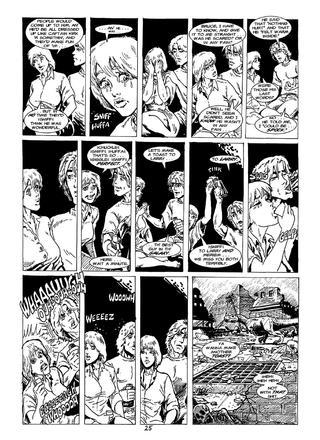 Cavewoman Rain 7 by Bud Root