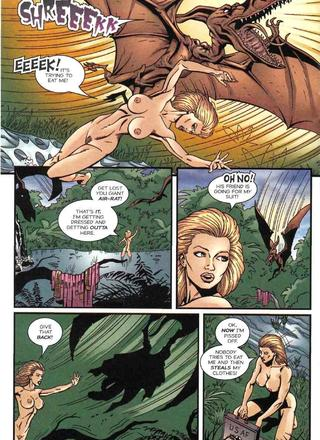 Cavewoman Color Special by Bud Root