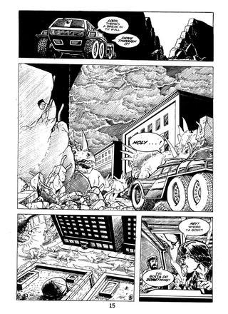 Cavewoman Rain 4 by Bud Root