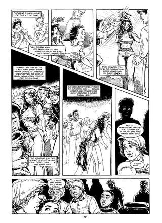 Cavewoman Rain 6 by Bud Root