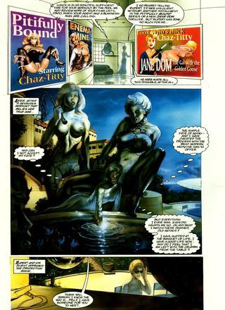 Captain Erotica by Buzz Dixon, Peter Hsu