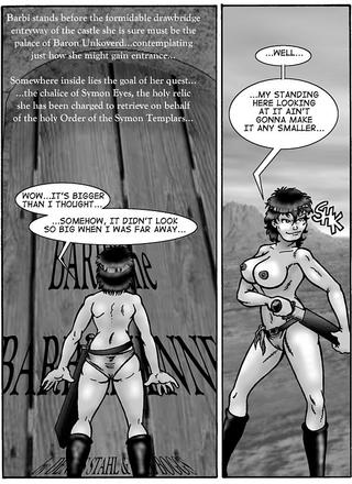 Barbi the Barbarienne 9 by D Stahl