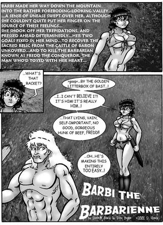 Barbi the Barbarienne 7 by D Stahl