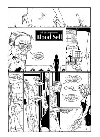 Blood Sell by David Pettigrew, Josh Hood