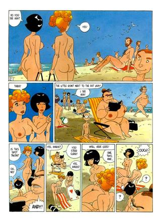 The Beach Party by Dick Matena