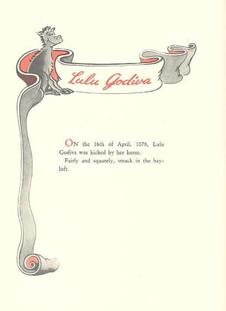The Seven Lady Godivas by Dr Seuss