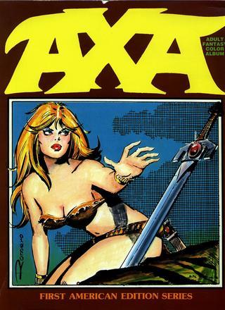 Axa Adult Fantasy Color Album by Enrique Romero