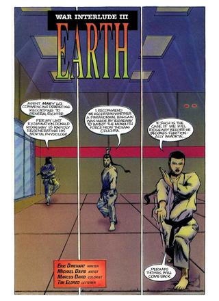 War Interlude 3 Earth by Eric Dinehart