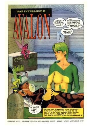 War Interlude 2 Avalon by Eric Dinehart