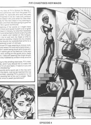 Fifi Chastises Her Maids by Eric Stanton