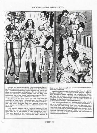 Baroness Steel and New Adventured of Baroness Steel by Eric Stanton