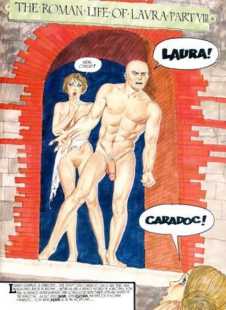 Roman Life of Laura 7 by Erich von Gotha