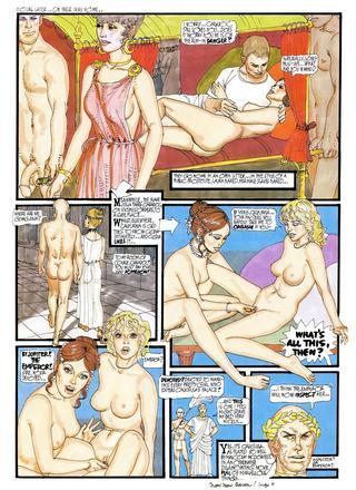 Roman Life of Laura 8 by Erich von Gotha