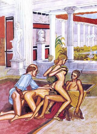 Roman Life of Laura 4 by Erich von Gotha