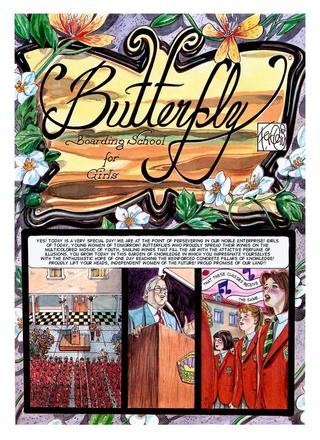 Butterfly Boarding School For Girls de Ferocius