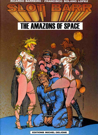 Slot Barr The Amazons Of Space by Francisco Solano Lopez