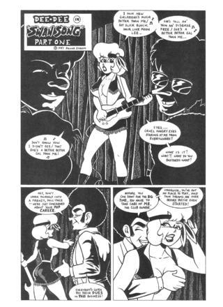 Dee Dee Swan Song 1 by Frank Strom