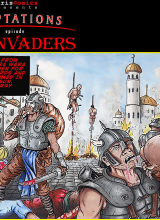 The Invaders by Garvin