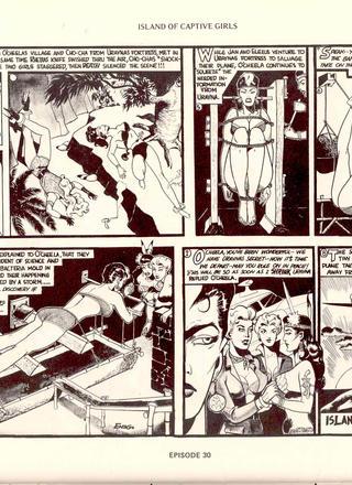 Island of Captive Girls by Gene Bilbrew