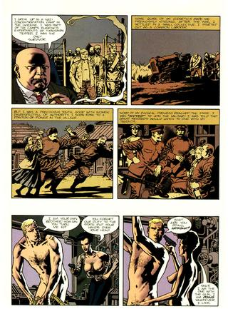 Scion 5 The Past  by George Caragonne, Kevin Nowlan