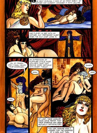 A Night in a Moorish Harem 1 by George Herbert