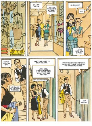 Carol Runs her Errands by Gibrat