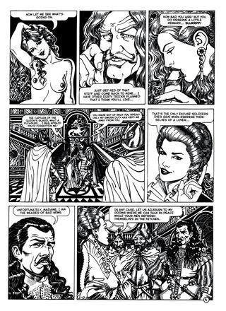 Lady X Lusts Captive by Giovanni Degli Esposti