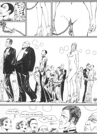 The Story of O 4 The Owl by Guido Crepax