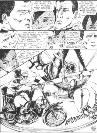 The Story of O 12 Confidential Report by Guido Crepax
