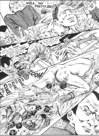 The Story of O 9 Larry by Guido Crepax